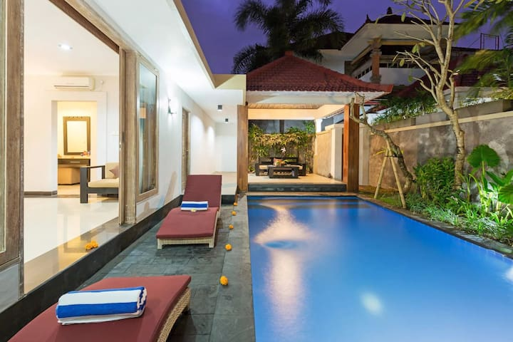 Wonderful 1BR Private Pool Villa in Ubud Gianyar