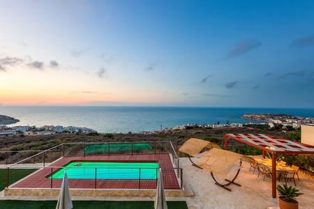 Villa Princess, Exceptional View & Close to City! - Rethymno