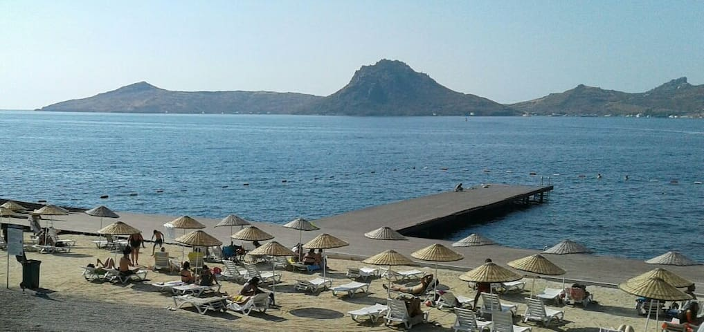 BODRUM LOVELY STUDYO WİTH GARDEN AND SEAVİEW.