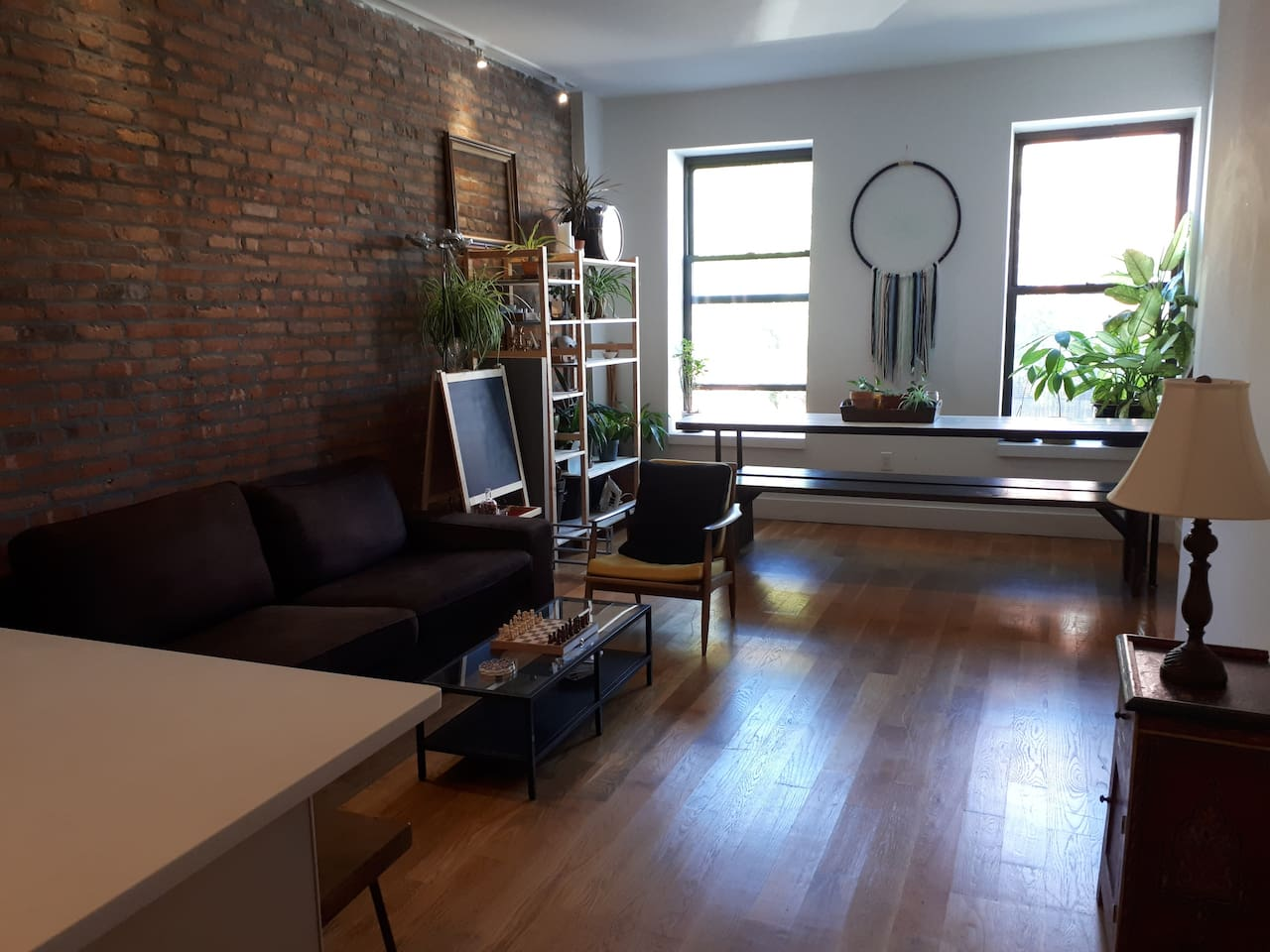 Our cozy living-room