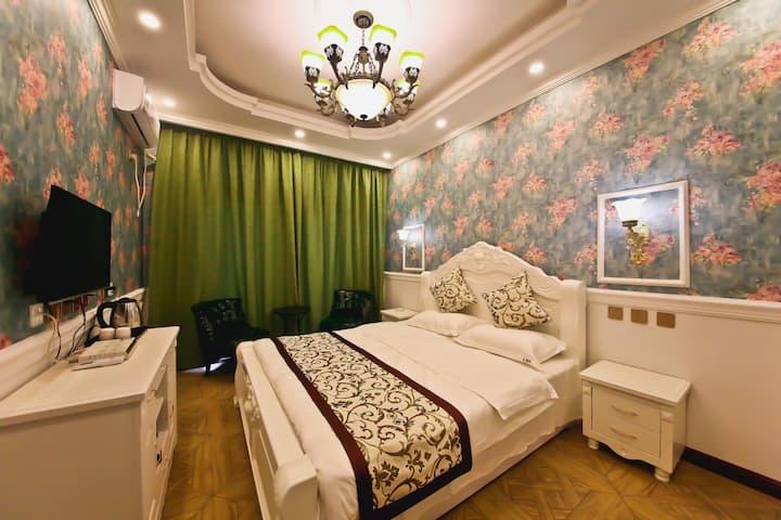 北戴河天际线宾馆欧式浪漫大床房