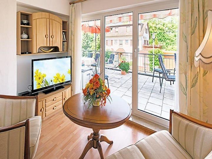 Apartmenthaus am Schwarzwälder Hof, (Bad Bellingen), Doppelzimmer mit zusätzlichem Schlafraum 7A, 2 Schlafzimmer, max. 4 Personen