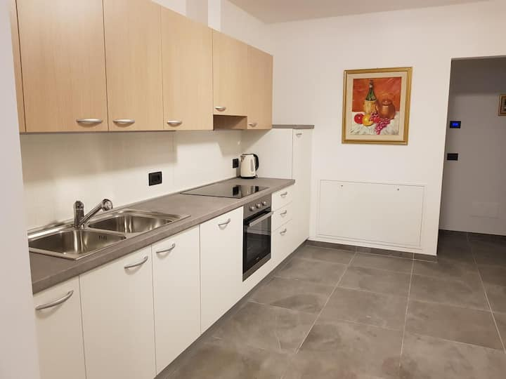 """Holiday Apartment """"Appartamenti Luna"""" with Mountain View, Shared Terrace & Wi-Fi; Parking Available, Pets Allowed"""