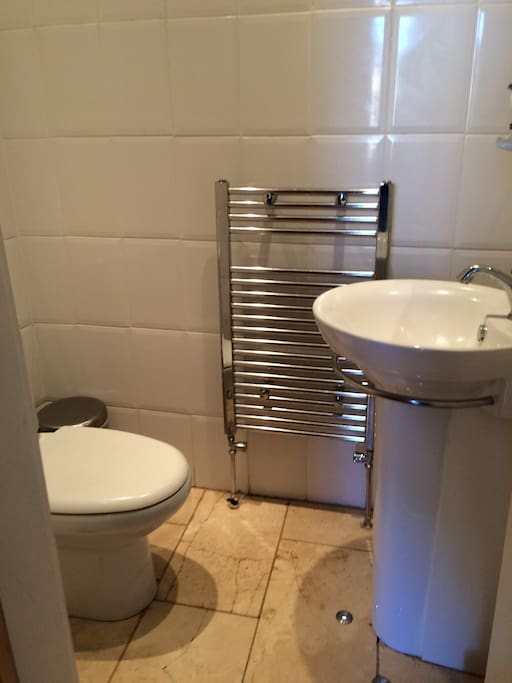 Separate Toilet opposite bedroom