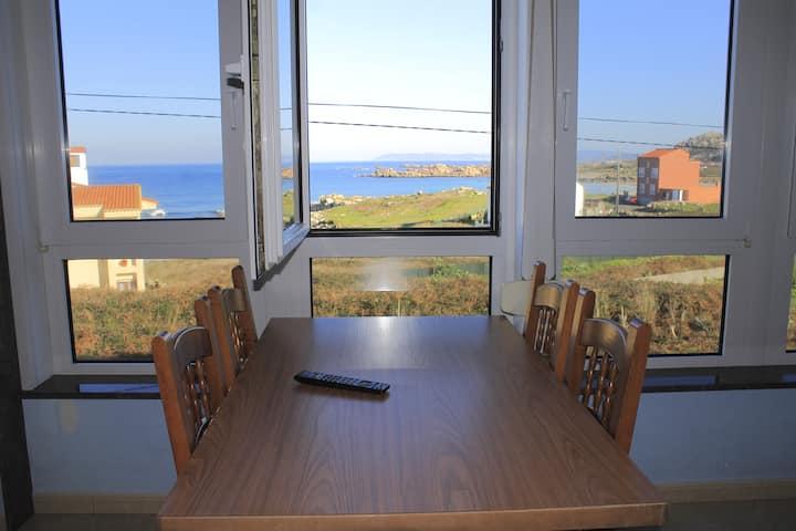 Cosy studio apartment on seafront