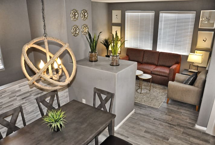 Gated modern and attractive condo with King master