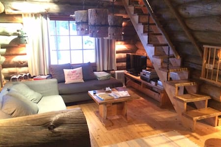 UKKELO Greylog cottage at Levi skiresort - 基蒂萊(Kittilä) - 小屋