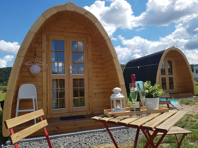"Podhouse auf dem Weidenäckerhof ""Rumpelstilzchen"""