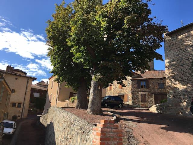 maison de charme dans village medieval - Saint-Jean-Saint-Maurice-sur-Loire - Hus