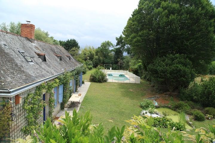Gite de France , les Minimeries bord de Loire