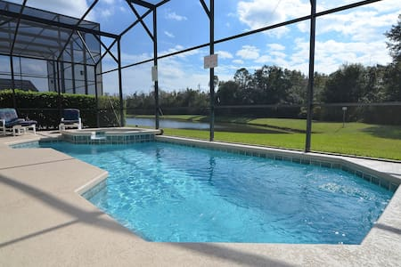 6 bedroom pool/spa home near Disney. Pet friendly. - Kissimmee