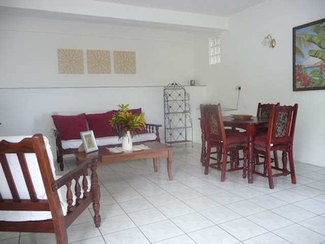 Garden Apartment - 1 bedroom - 2 persons