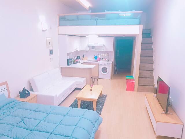 [Seomyeon Station] MH House A06 - Busanjin-gu - Apartamento