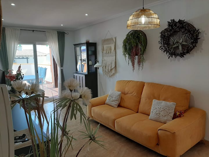 Apartamento en residencial con spa