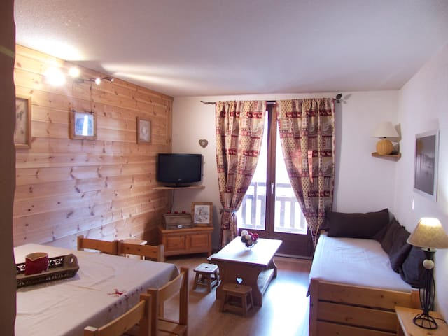Appartement 3 chambres cap 7pers Risoul Station