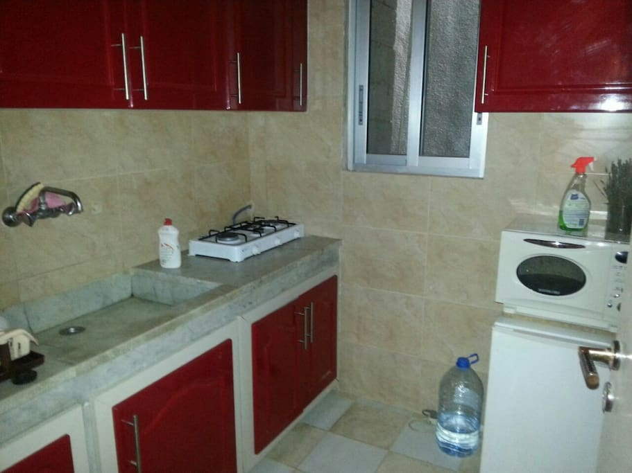 Kitchen newly refurbished