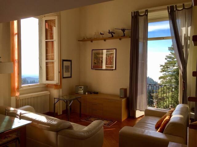 Appartamento sul lago Maggiore.