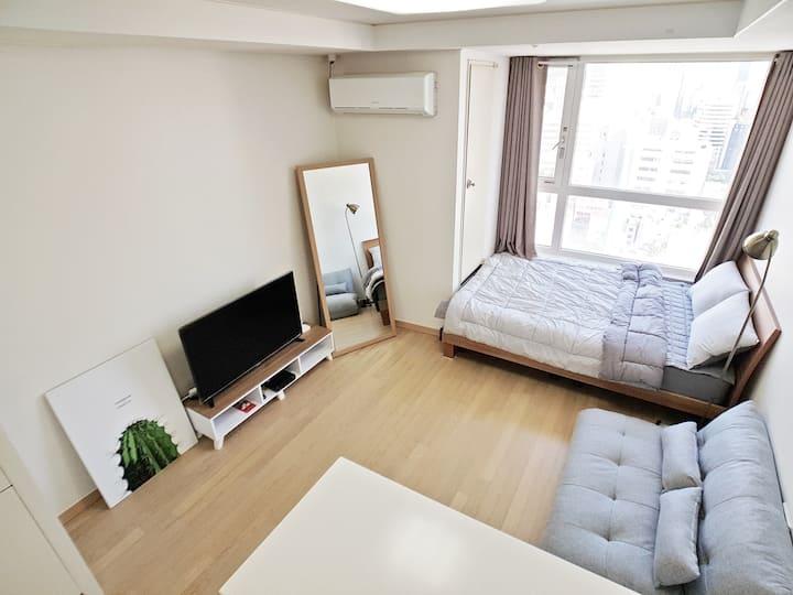 #매일 방역#서면중심 초고층뷰!! Simple BEBE HOUSE