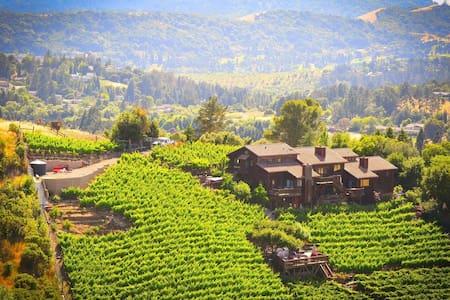 Stay at a Stunning views with Vineyard and Winery - Moraga
