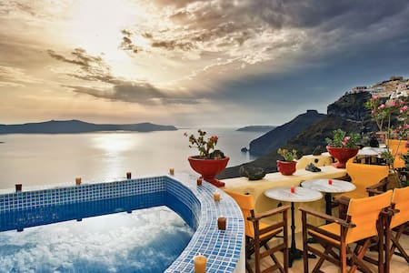 Iriana traditional Apartments with Caldera view - Thira