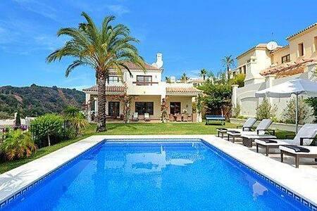 Deluxe Family Villa   Estepona   Golf & Country - Estepona - Villa