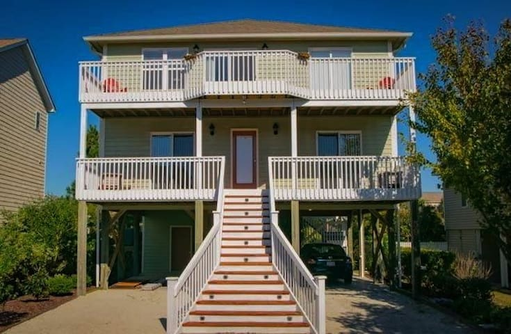 Tine's Place, Private Beachhouse in Surf City