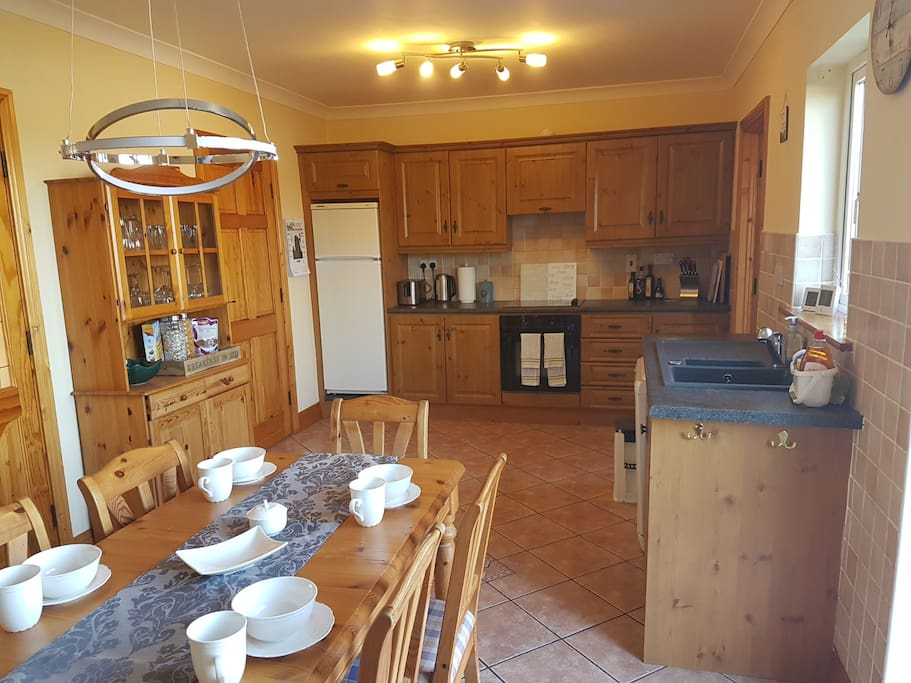 Kitchen with breakfast/dining room