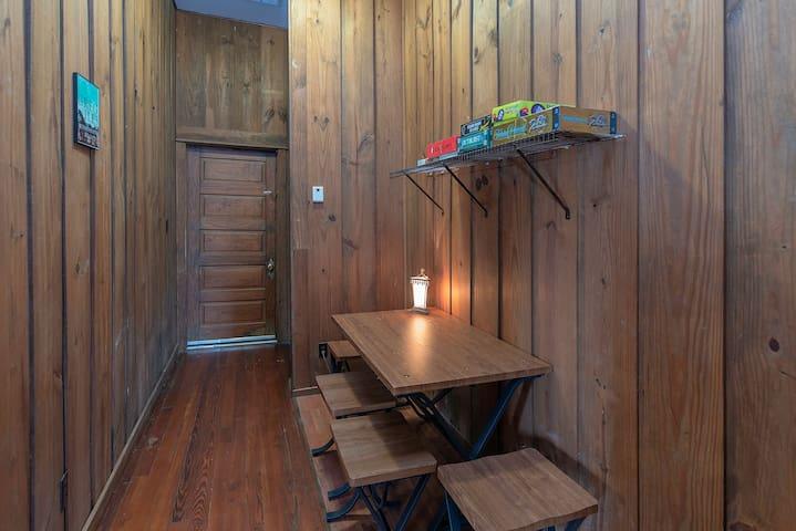 Moose Lodge Hallway
