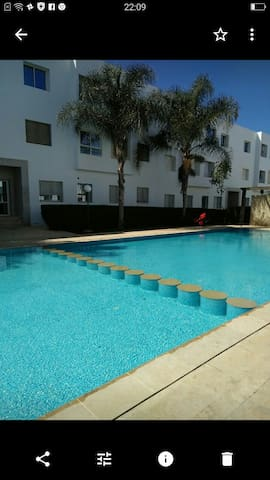 Lovely Appart with Pool near Beach (Free Parking)