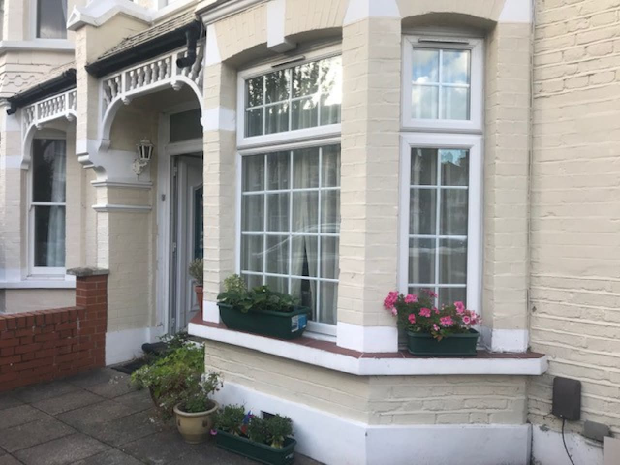 A cute Victorian house in Wimbledon.