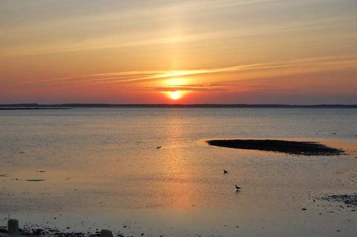 Brant Point-Waterfront, Sunsets, Chincoteague Bay