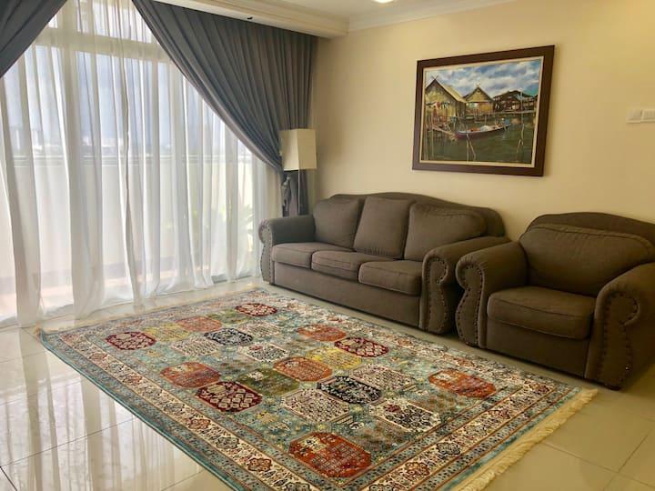 Putrajaya; clean, spacious & affordable apartment