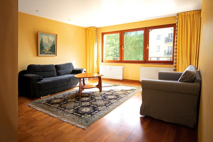 Apartment next to the Forest Trails of Wolin Park!