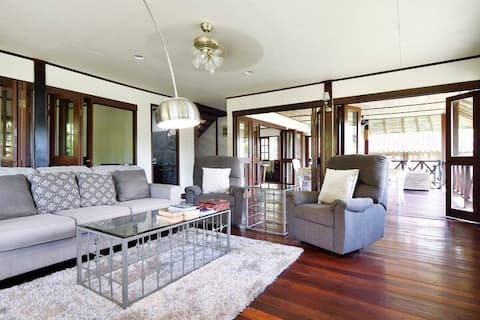 Peaceful Villa in private beach Resort, 5min to 🏌🏻♀️