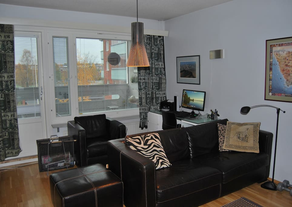 modern apt with private sauna and balcony appartements en r sidence louer rovaniemi finlande. Black Bedroom Furniture Sets. Home Design Ideas