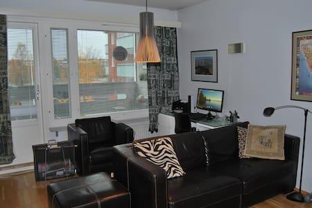 Modern apt with sauna and balcony - Rovaniemi