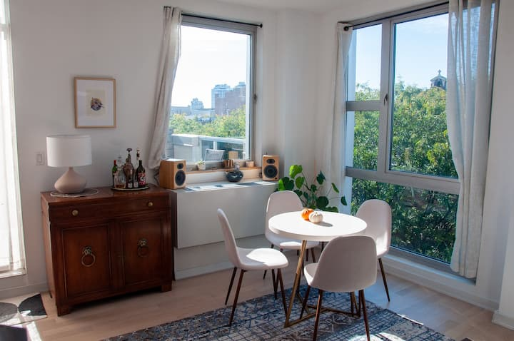 Sun-Filled Williamsburg Apt for Winter Sublet