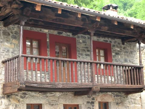 Casa rural en Soto de Sajambre en Picos de Europa