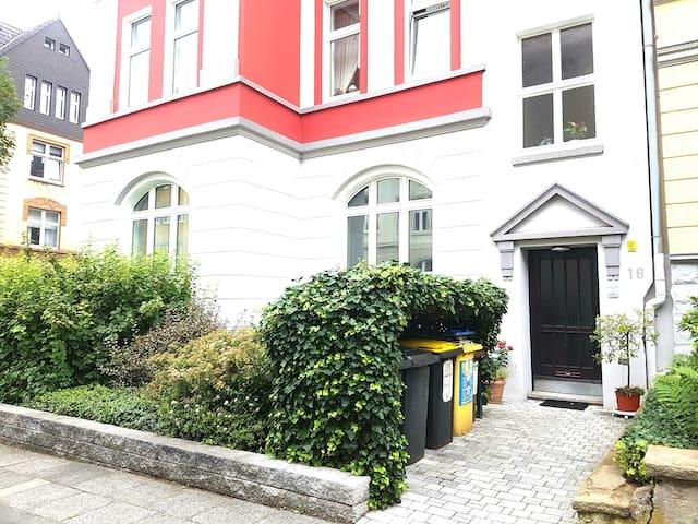 Studio/Whg. in Jungendstilvilla - City/Messe/BVB
