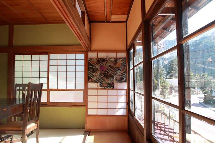 東京の秘境 檜原村の絶景古民家 Private house in wilderness Tokyo - Hinohara-mura - Haus
