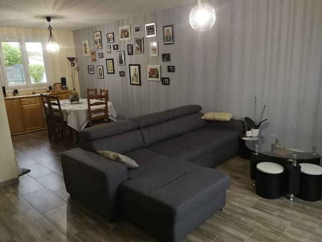 Chambre dans maison au calme à 15mn de Nantes