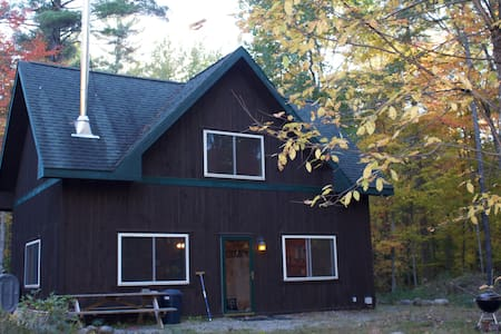 Adirondack West Branch AuSable River-front Cabin