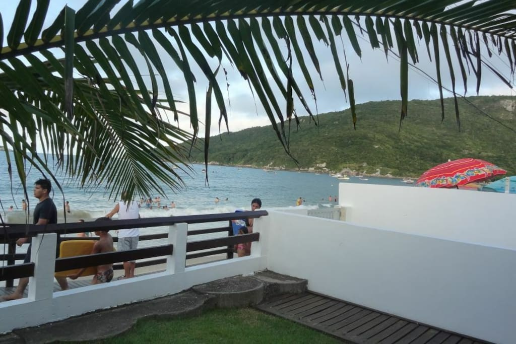 casa frente ao mar