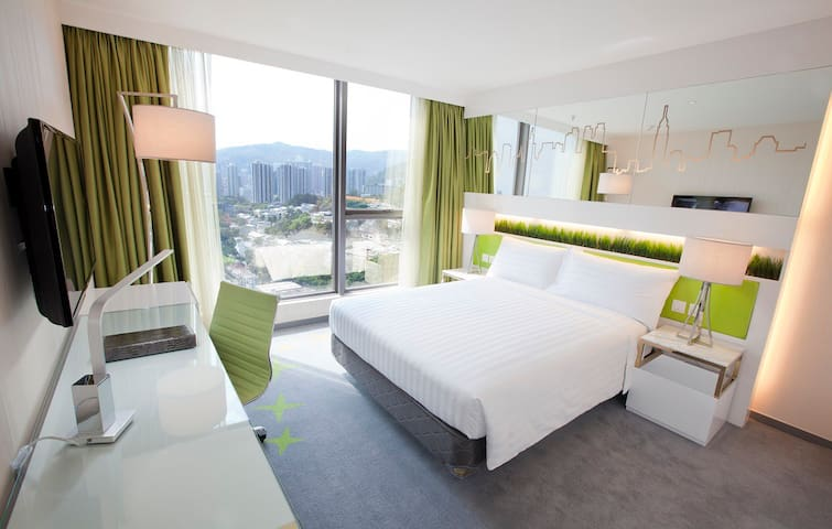 New & stylish rooms, free WiFi & IDD, Pool & Gym - Hongkong
