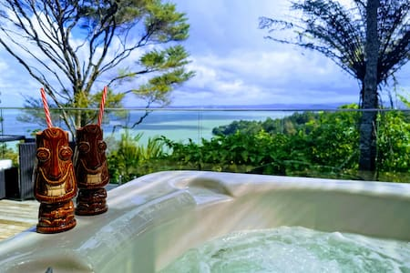 Relax with Private Hot Tub Ocean Views