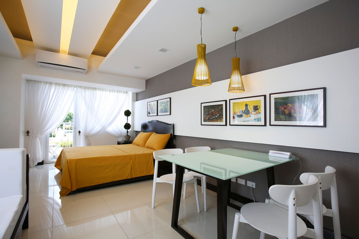 Wide Room Space 41.71 sqm in floor area