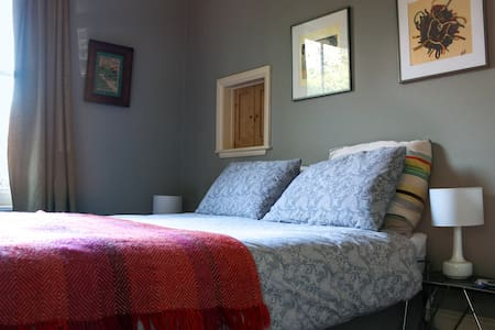 Lovely retro room with kingsize & single bed - Fulbourn - 獨棟