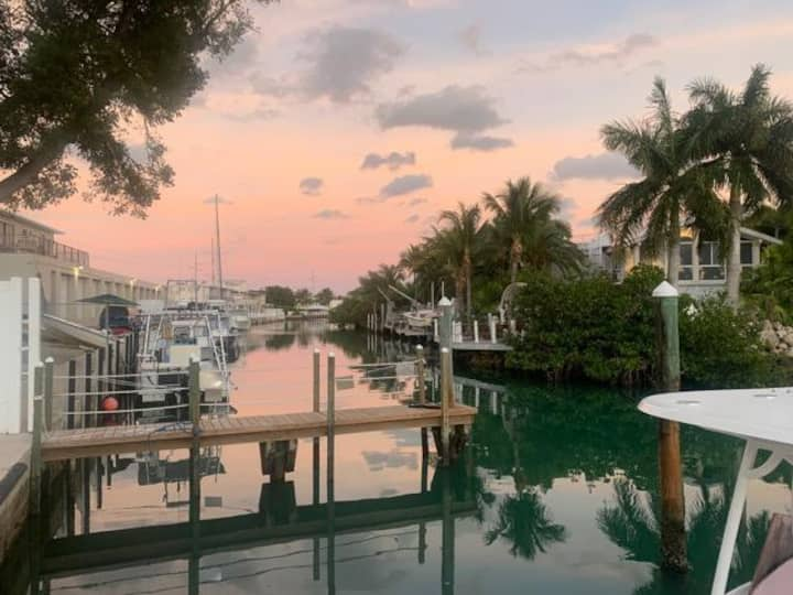 Stay in a studio at a marina!