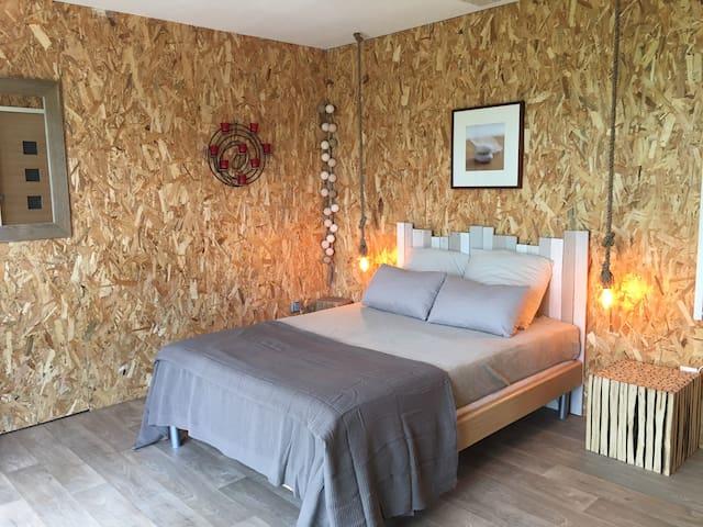 Bauduen : Chambre avec vue sur le lac