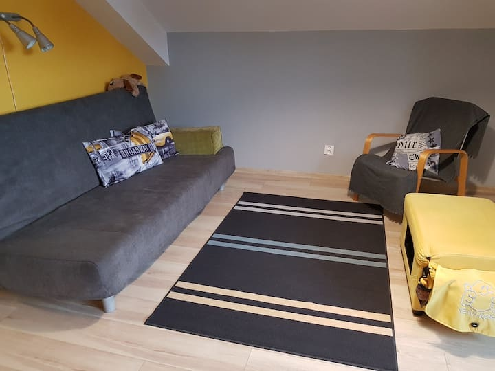 Comfortable  modern room in Katowice